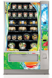 Lunch Vending Machines Custom Reimbursable Meal Vending Machine