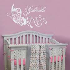 girls name wall decals nice baby girl wall decor
