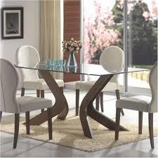unbelievable modern dining table set oval back dining chairs and gl top table unbelievable representation