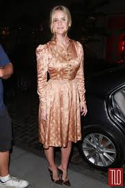 Alice Eve Promotes Dirty Weekend in a Dirty Old Dress Tom.