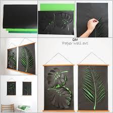leaf wall art diy