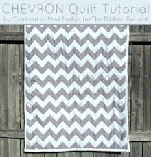 How to make a Chevron Quilt using 10