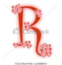 Love Letters Classy Love Letter Alphabet R Love Alphabet Decorated With Hearts