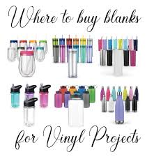 where to blanks for vinyl crafting