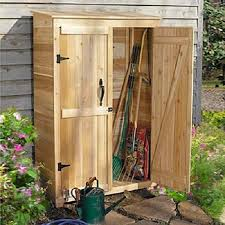 garden tool shed wooden double doors patio and 23 similar items s l1600