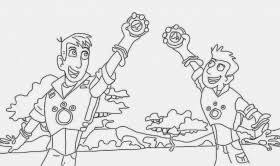 Small Picture gallery of wild kratts coloring pages wild kratts dolphin
