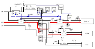 any major problems this wiring plan page 2 home brew forums the wiring might seem sort of convoluted but that is because i was trying to accommodate several 24v components that i already had contactors