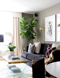 Nyc Living Room Home Tour A Designers Own Petite Nyc Pad Chic Living Room