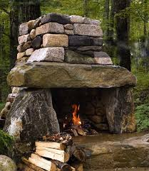 15 diy how to make your backyard awesome ideas 3 outdoor stone fireplacesfireplace