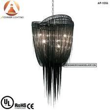chandelier chain large black mother chandelier luxury black chain chandelier pendant light chandelier chain sleeves cover