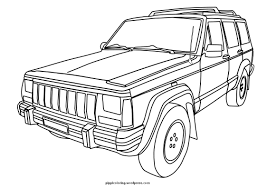 Small Picture Sheets Jeep Coloring Pages 62 For Gallery Coloring Ideas with Jeep