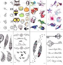 Top 8 Most Popular Bat Temporary Tattoo List And Get Free Shipping