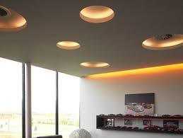 Indirect light fluorescent recessed ceiling lamp USO 2500 COVE