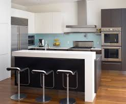 Modern Kitchen Countertop New Trends In Kitchen Countertops Overhang Thickness Colors