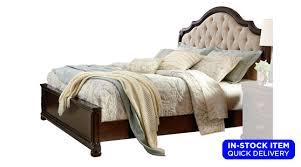 tufted upholstered beds. Althea Elegant Cream Button-Tufted Upholstered Bed Tufted Upholstered Beds H
