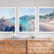 art for bedroom. gray malin triptych artwork // gorgeous art for bedroom