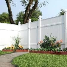 white fence panels. Home Depot White Fence Panels Inspiring Vinyl Veranda 6 Ft H X E