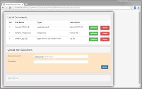 Spring Mvc 4 Fileupload Download Hibernate Mysql Example Websystique