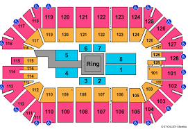 Ford Park Seating Chart For Wwe