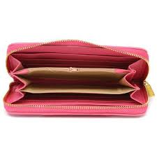 Coach Waverly Stud In Signature Large Pink Wallets AGS ...