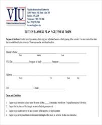 Student Agreement Contract 10+ Sample Payment Plan Agreements | Sample Templates