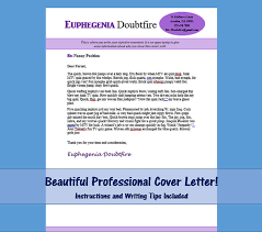 Nanny Cover Letter Template Mrs. Doubtfire by NannyLikeAPro Your resume is  great, but you