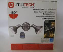 Utilitech Com Lighting Outdoor Motion Sensor Security Floodlight Review
