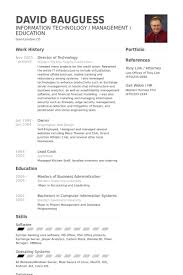 Director Of Technology Resume Samples Visualcv Resume Samples Database