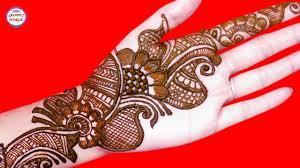 Latest Design Of Mehandi Simple Mehndi Designs Latest Arabic Henna By Jyoti Sachdeva