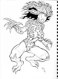 Small Picture Coloring Pages Marvel Venom Coloring Page Wecoloringpage Venom Vs