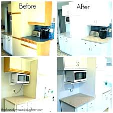 can laminate cabinets be painted painting before and after pictures