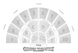 Harveys Outdoor Concert Seating Chart Greek Theatre Venue Information Another Planet Entertainment