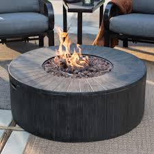 awesome round gas fire pit red ember whitehall 40 in gas fire pit