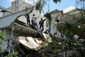 Damage was reported to buildings and roads in hualien, according to local media outlets. M 7 1 Earthquake Collapses Buildings In Mexico City On The 32nd Anniversary Of A Deadly M 8 0 Quake Temblor Net