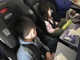 car seat on airplane kids sleeping on plane bring toddler car seat on airplane rules