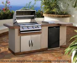 Outdoor Kitchen Countertop 8 Ft Outdoor Kitchen With Extra Countertop Cal Flame Lbk820
