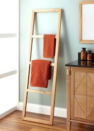 wooden towel rack best racks ideas on holder bathroom half decor and wood stand o56 wood