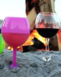 pool wine glasses the beach glass acrylic wine glasses for beach snow pool wine glasses that pool wine glasses