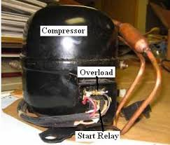 refrigerator not cooling repair guide overload and relay on compressor