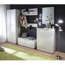 modern hallway furniture. canberra hallway furniture set 1 in white high gloss and glass modern