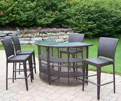 cute outdoor bar table and chairs