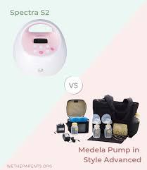 Medela Comparison Chart Spectra S2 Vs Medela Pump In Style 2019 Comparison