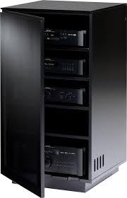 Amazon.com: BDI Mirage 8222 Enclosed A/V Component Tower, Satin ...