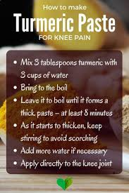 natural relief for knee pain