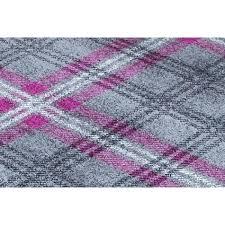 tartan rug modern tartan rug grey purple tartan throw tartan rug