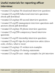 12 interview resume sample