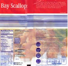 aldi sea queen bay scallops nutrition facts and deled ysis