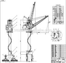 mobile harbour portal crane dock crane used for dry port sea port mobile harbour portal crane dock crane used for dry port sea port