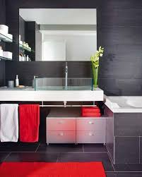 black and red bathroom accessories. Large-size Of Artistic Black As Wells Red Bathroom Images Fleurdelissf With And Accessories T