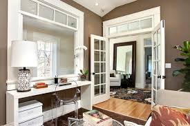 office formal living room transitional home home office french doors with interior glass doors shine as stars of the flow